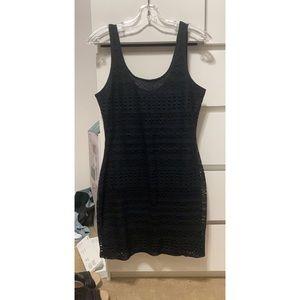 Garage- Black Bodycon Dress